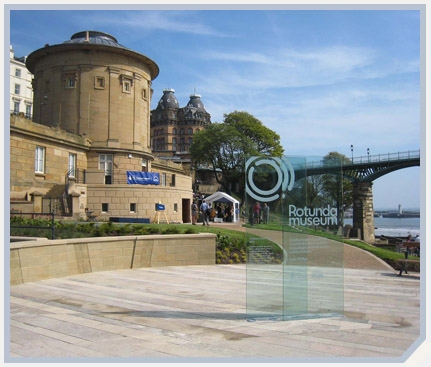 Rotunda museum landscape design masterplan, Scarborough