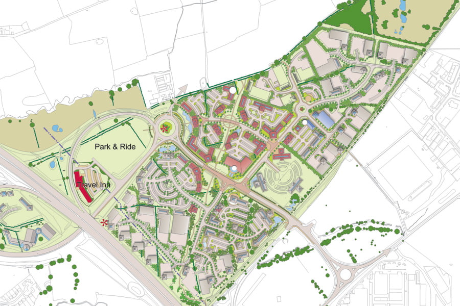 Preston-East Design Guide Masterplan