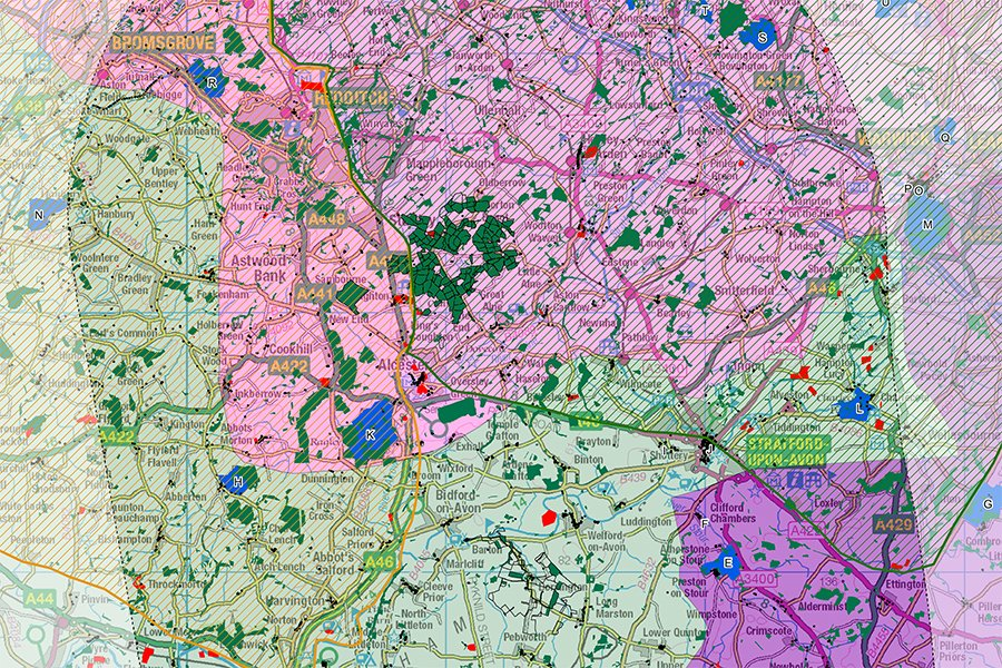 Mapping the Heart of England Forest | TEP – The Environment Partnership