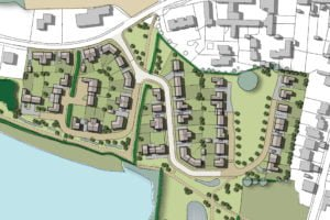 Newton Road - Heather - Illustrative Masterplan z
