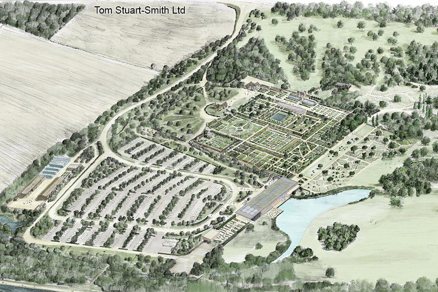 Illustrative Masterplan Aerial View TSS