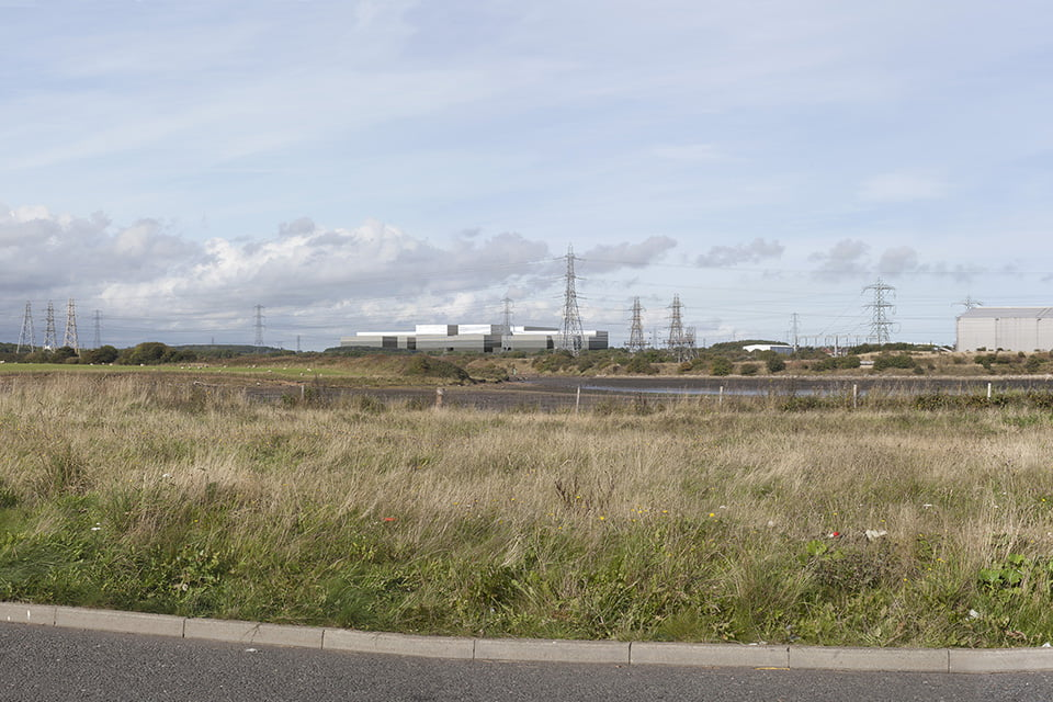 Verified Photomontage - Proposed view from Blyth Riverside Business Park