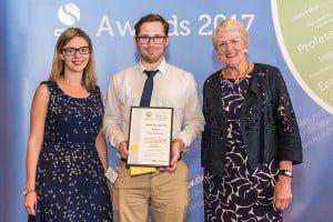 CIEEM Awards 2017 Katie, Jacob and Baroness Young