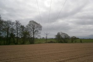 The new Legacy to Oswestry 132kV overhead line