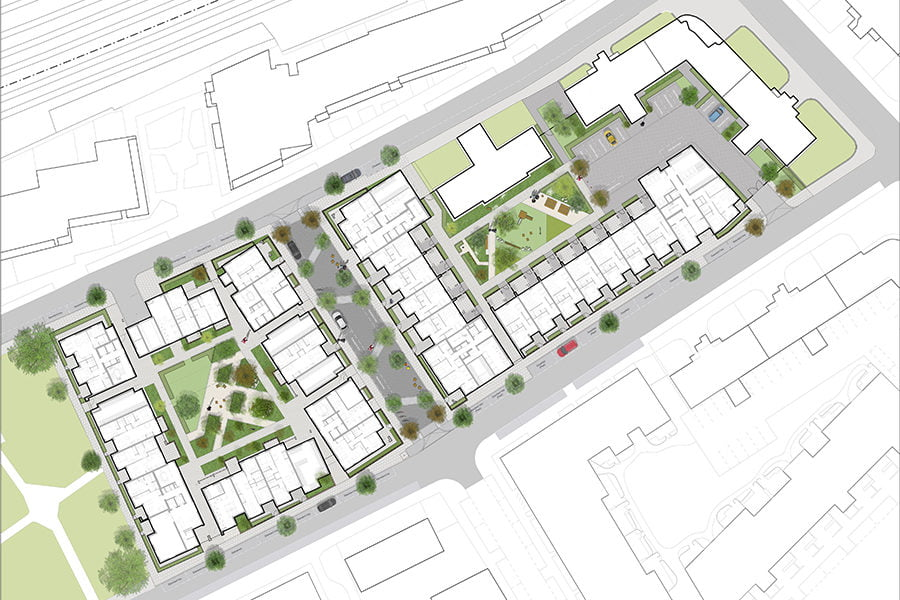 The Environment Partnership_Landscapes Designed For Communities_South Kilburn Regeneration Programme_London_Masterplan