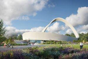 Eternal Wall of Answered Prayer - CGI by Renderloft, Eternal Wall design by Snug Architects