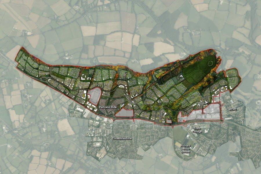 Langarth Garden Village Masterplan