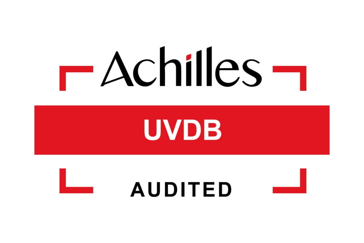 Audit Success - Achilles UVDB Audited
