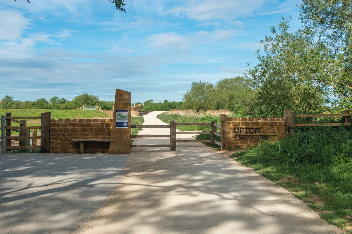 TEP project - Upton Country Park in Northampton