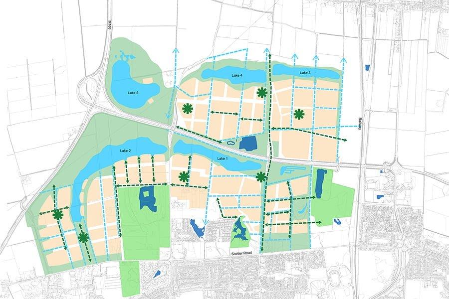 Lincolnshire Lakes Tep The Environment Partnership