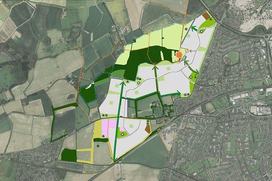 Manydown Strategic Site  Basingstoke